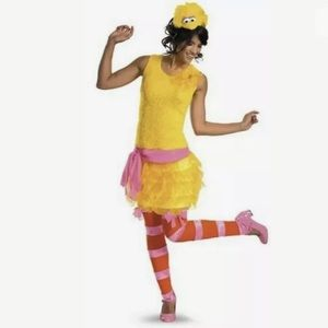 🆕 Sexy BIG BIRD Halloween Costume Women's Medium